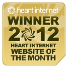 Cooool – our Swapboards site wins Heart Internet's Website of The Month Gold Award!